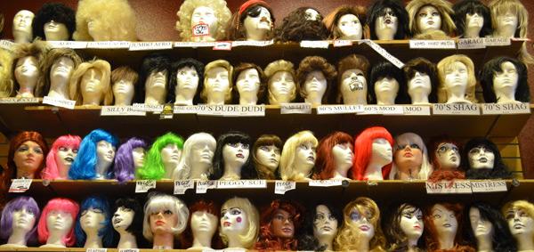 Wall Ou0027 Wigs & Wall u0027O Wigs u2013 Red Light Vintage