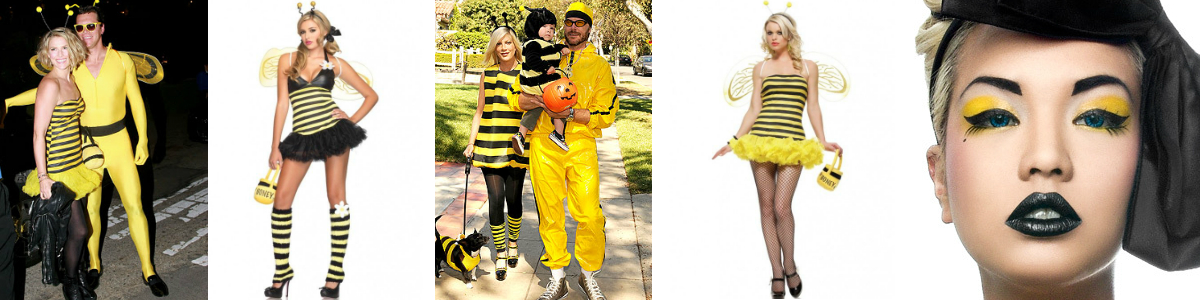 Celebrity Costumes Bee Banner