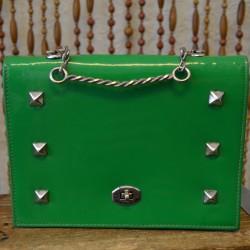 1960s fun vinyl handbag!