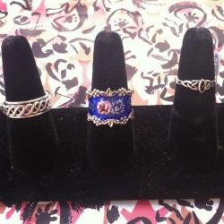 New rings #redlightvintage #silver #celtic