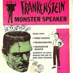 Vintage monster speaker